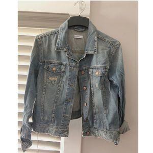 GAP 1969 Denim Light Wash Jacket- Size Large